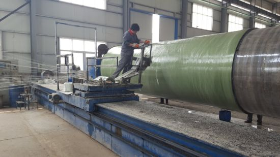 China Fiber Reinforced Polymer/Plastic FRP GRP Pipes
