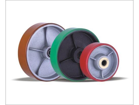Polyurethane Wheels with Cast Iron Centre