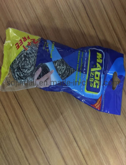 High Quality Stainless Steel Scourer with Printed Bags pictures & photos