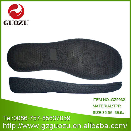 Woman TPR for Shoes Making