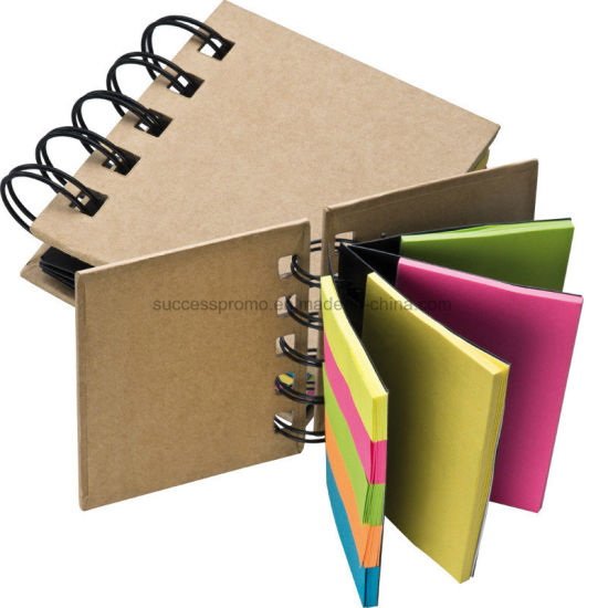 Small Ring-Binder with Coloured Memo Strips pictures & photos