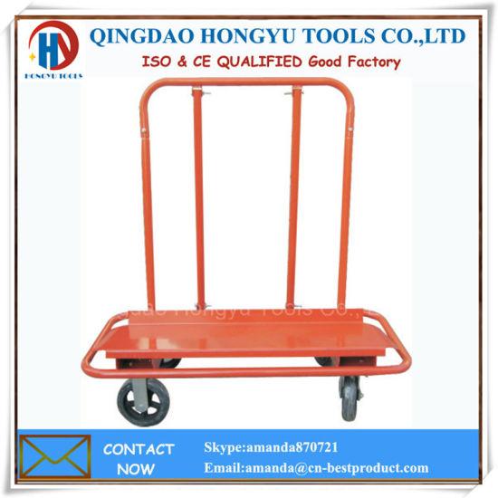 High Quality 300kgs Capacity Steel Drywall Cart