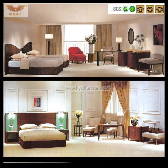 New Design Five Star Hotel Suite Bedroom Furniture (HY 027)