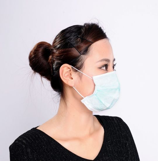 Non Woven Face Masks Disposable Professional Earloops Medical Use pictures & photos