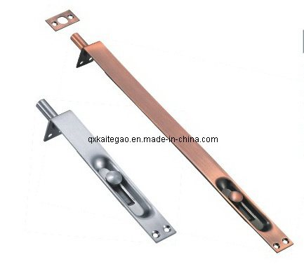 (KTG-202) Good Quality Satin Finish Stainless Steel Button Door Latch pictures & photos
