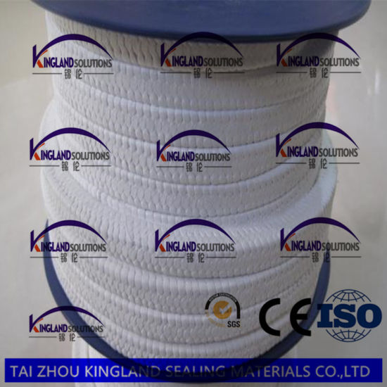 (KLP212) Pure PTFE Teflon Gland Braided Packing Without Oil