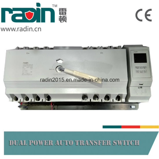 Wind Power ATS Automatic Transfer Switches for Generators pictures & photos