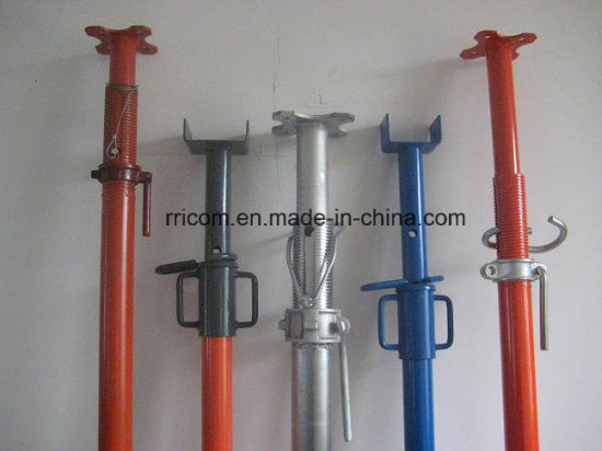 Painting Scaffold Steel Props/Post Shorings for Construction