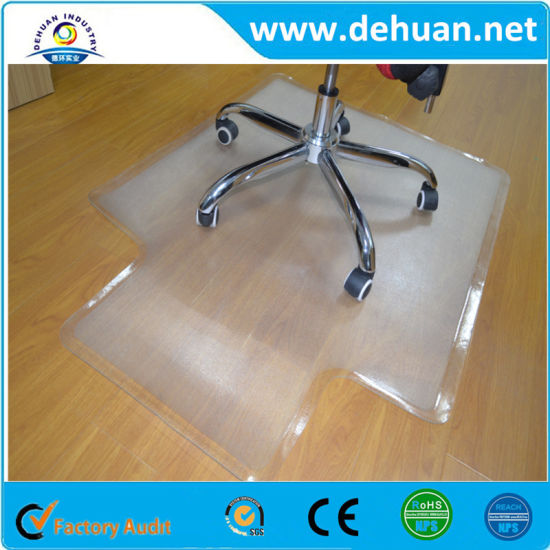 Dehuan PVC Office Mat for Carpet Protecting 1524mml*168mmw pictures & photos