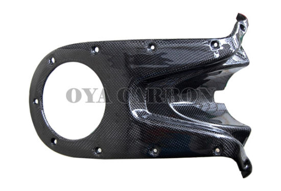 China Carbon Fiber Tank Cover Top For Ducati Monster 696 2008