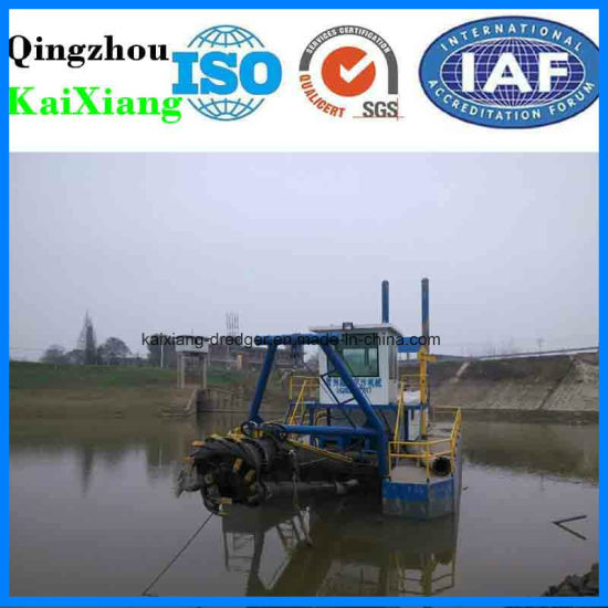 China Cutter Suction Dredger for Sale with Dredging Pump pictures & photos