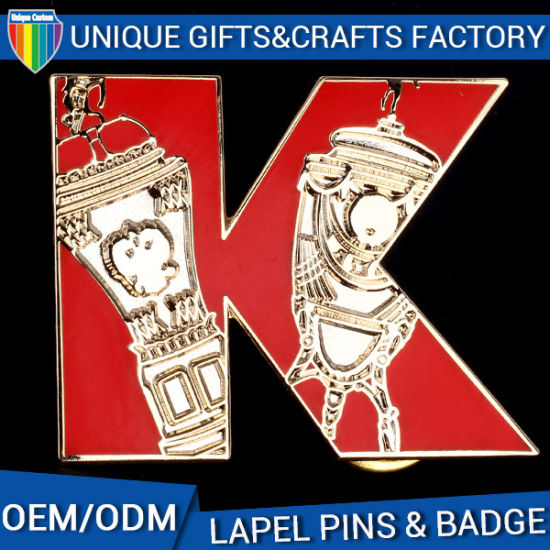 European Badges Gift Promotions Enamel Crafts Metal Pins pictures & photos