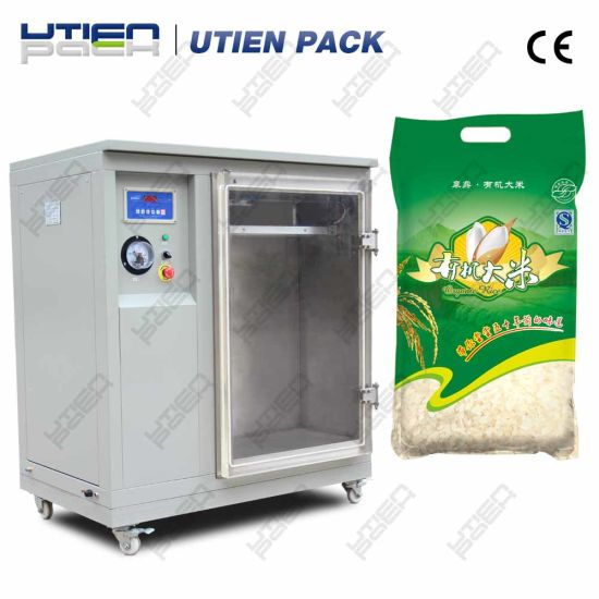 Vertical Powder Vacuum Packaging Machine for Big Heavy Bags pictures & photos