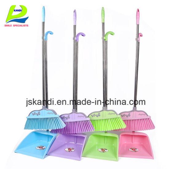 Custom Multicolor Floorenvironmental Protection Plastic Broom