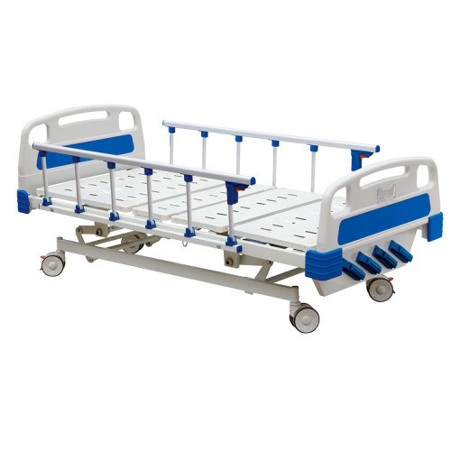 BS-837 Five Function Manual Hospital Bed ICU Hospital Bed Patient Bed Medical Bed