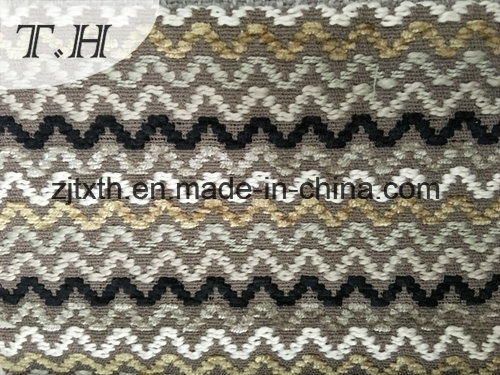 2017 Corrugated Woven Linen Fabric for Chair and Furniture pictures & photos