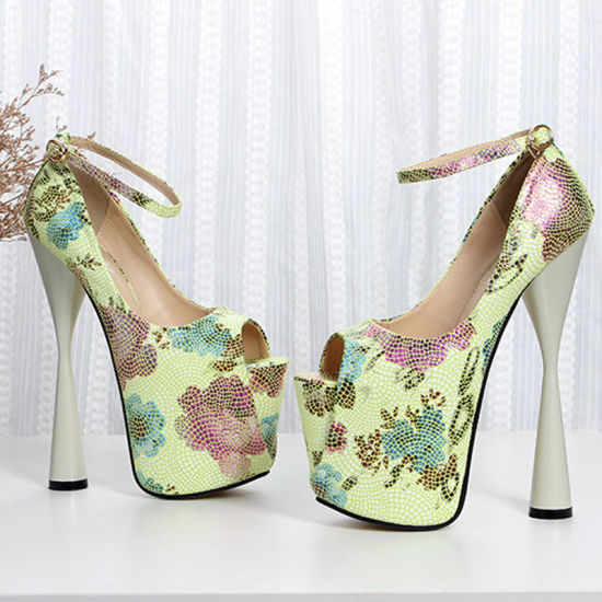 7808148056e9 Classic Pointed Toe Pumps Comfortable Closed Toe Fabric High Heel pictures  & photos