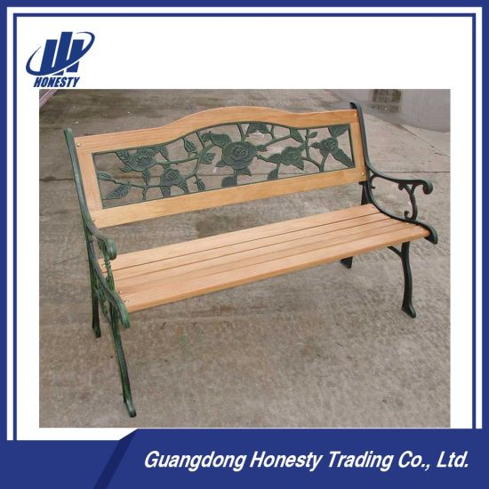 Pb 29 Antique Wrought Cast Iron Garden Bench For Outdoor