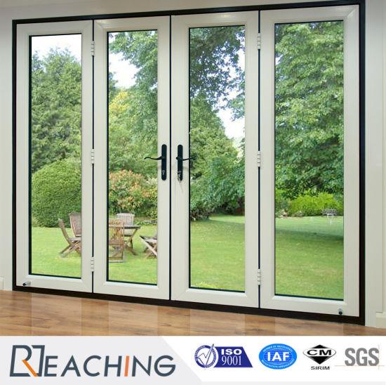 Economic Price Double Glazed Casement Plastic/UPVC Door & China Economic Price Double Glazed Casement Plastic/UPVC Door ...