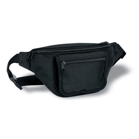 Waist Bag with Pocket for Credit Cards and Pen with Customized Logo