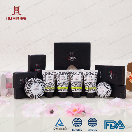 China 2017 new design hotel amenity sets packaging for Design hotel 2017