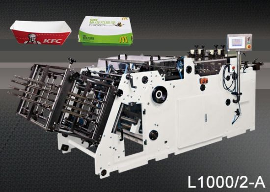 Factory Sales Hamburger Boxes Machinery for Packaging Box