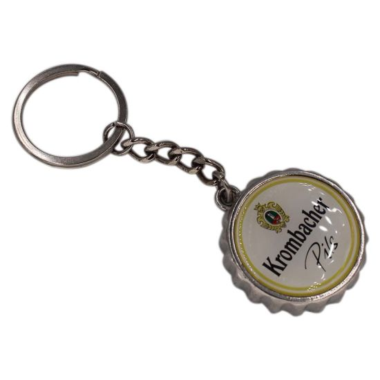 Creative Design Gold Plating Basket Shape Hard Enamel Keychain pictures & photos