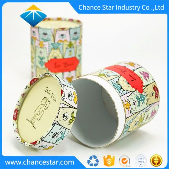Custom Cylinder Boxes Paper Gift Packaging Cardboard Tubes pictures & photos
