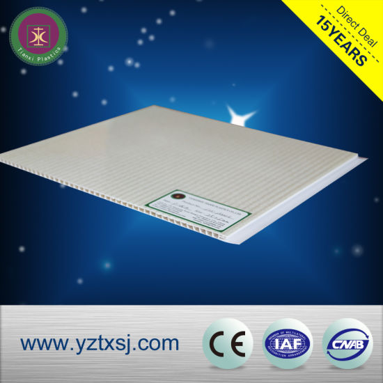 Environmental Healthy PVC Ceiling Sheet/Wall Panel for Decoration in Yangzhou pictures & photos