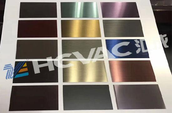 Ti-Gold, Rose Gold, Gun Black Stainless Steel PVD Coating Machine