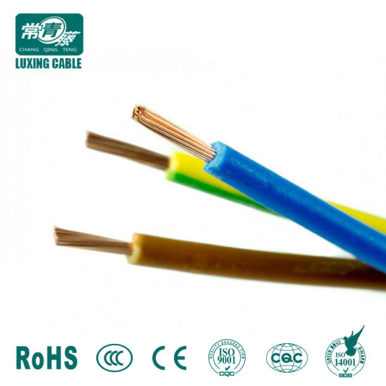 China Stranded Cu PVC Insulation Insulated Aluminum Wire Electric ...