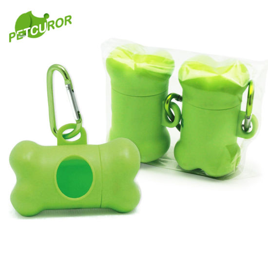Eco Friendly 100 Biodegradable Dog Bags Pet Waste Bag With Dispenser