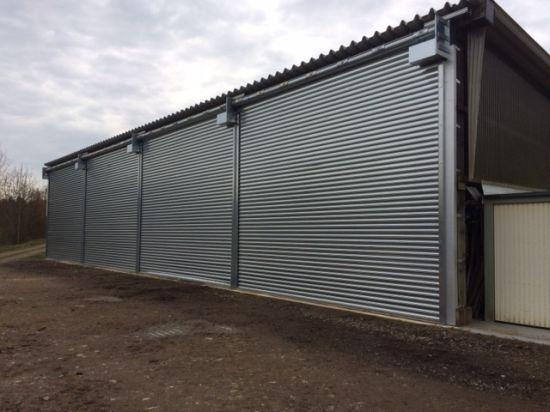 China Steel Roller Shutter Door Prices Galvanized Security Door
