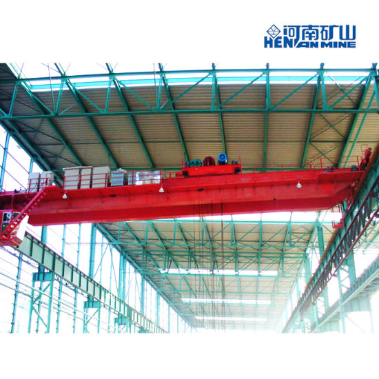 Double Girder Qd Model 5ton Winch Trolley Overhead Crane pictures & photos