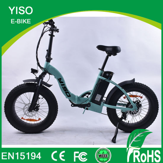 Hot Sale Fashion Design Snow Fat Folding-Bike Made in China