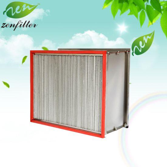 H13 H14 U15 U16 U17 High Efficiency Particulate Air Filter HEPA Panel Filter Glassfiber Media