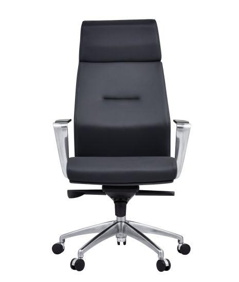 PU and Genuine Ergonomic Swivel Leather Office Chair