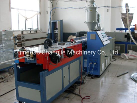 PE PP PVC Single Wall Corrugated Pipe Tube Manufacturing/Making/Production Machine