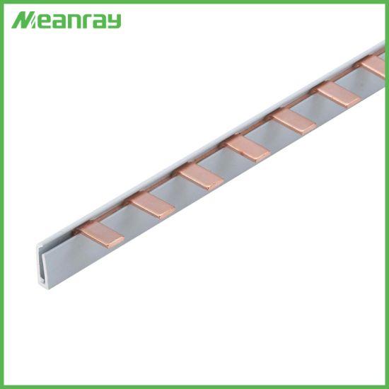 Pin Type Pure Copper Busbar Electric Copper Earth Bar L Type Busbar