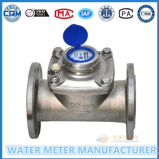 Dn100 Stainless Body Multi Jet Dry Dial Water Activity Meter