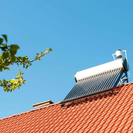 Low Pressure Solar Geyser Hot Water Heating System