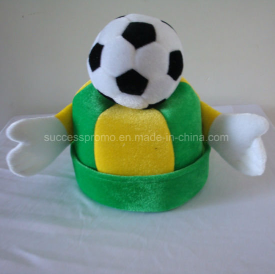 Soccer Fans Hat with Customized Logo