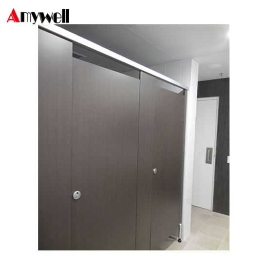 Amywell Manufacturer Cheap HPL Toilet Partition Cubicle Bathroom Partitions
