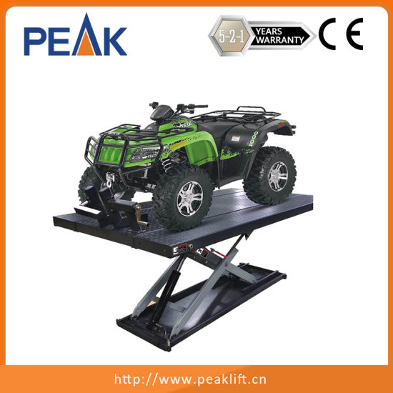 Long Warranty Foot Protection Table Motorcycle ATV Lift (MC-600) pictures & photos
