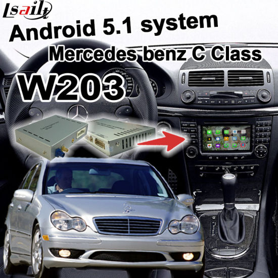 China Android GPS Navigation System Video Interface for Mercedes