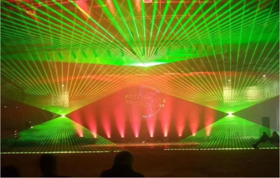 8W Green Laser Light Disco Lasers Light Laser Show System Stage Laser Light