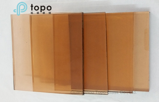 Tinted Special Pink Float Building Glass in Topo Glass Manufacturer (C-P) pictures & photos