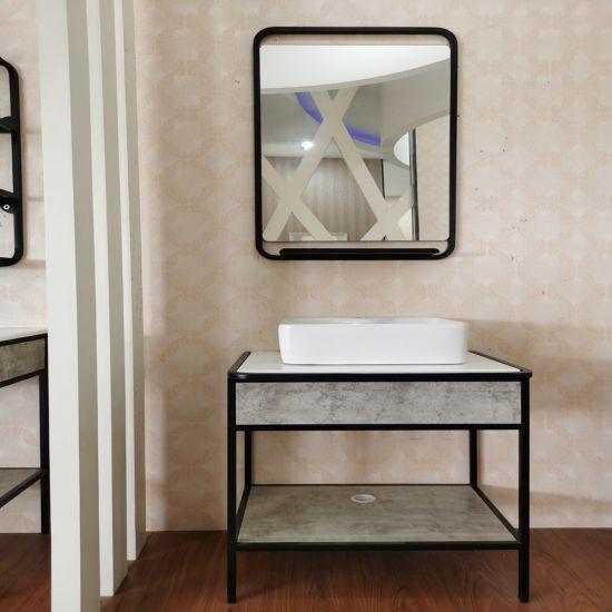 2020 New 80cm Modern Luxury Bathroom Furniture Vanity Bath Cabinet