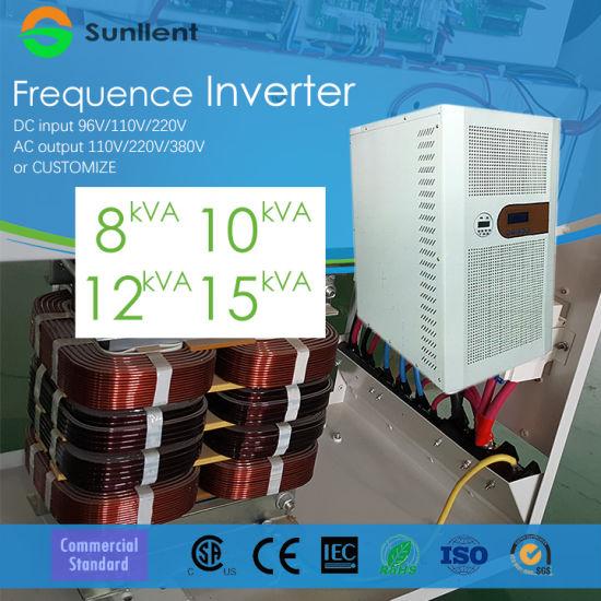 DC Input 96V/AC Output 110V/220V Solar Inverter 8kVA