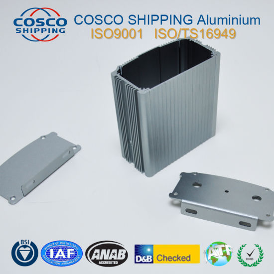 6063 T5 Extruded Aluminium Profile with Anodizing Surface pictures & photos